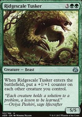 Aether Revolt: Ridgescale Tusker
