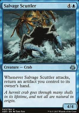 Aether Revolt Foil: Salvage Scuttler