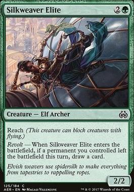 Aether Revolt Foil: Silkweaver Elite