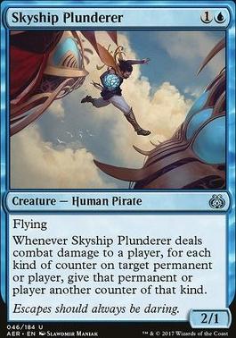 Aether Revolt Foil: Skyship Plunderer