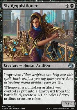 Aether Revolt: Sly Requisitioner