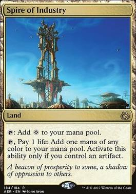 Aether Revolt Foil: Spire of Industry