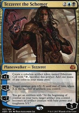Aether Revolt: Tezzeret the Schemer