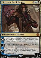 Aether Revolt Foil: Tezzeret the Schemer