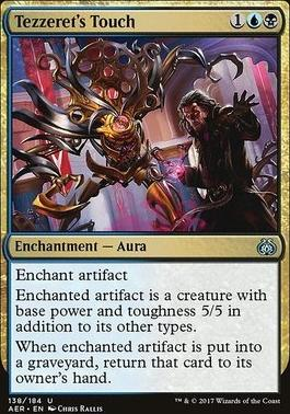 Aether Revolt: Tezzeret's Touch