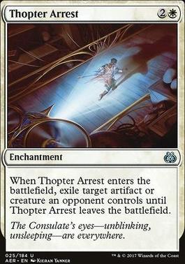 Aether Revolt: Thopter Arrest