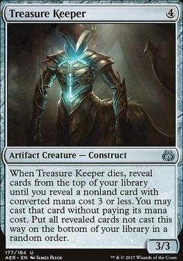 Aether Revolt Foil: Treasure Keeper