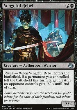 Aether Revolt: Vengeful Rebel