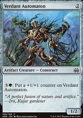 Aether Revolt Foil: Verdant Automaton