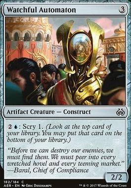 Aether Revolt: Watchful Automaton