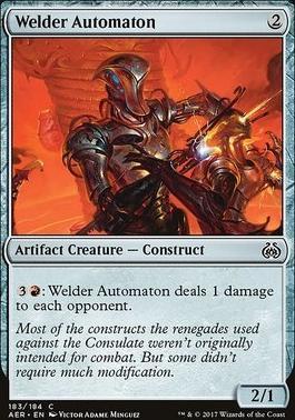 Aether Revolt: Welder Automaton