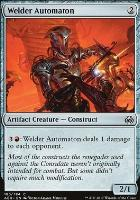 Aether Revolt Foil: Welder Automaton