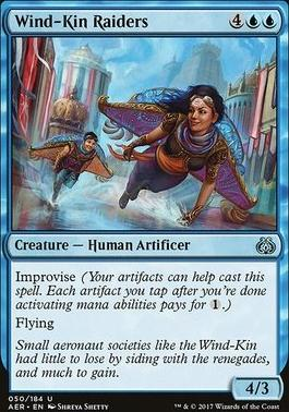 Aether Revolt Foil: Wind-Kin Raiders