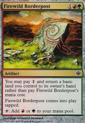 Alara Reborn: Firewild Borderpost