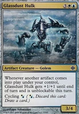 Alara Reborn Foil: Glassdust Hulk