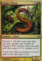 Alara Reborn Foil: Gorger Wurm
