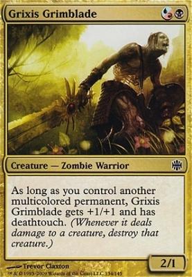 Alara Reborn Foil: Grixis Grimblade
