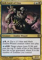 Alara Reborn Foil: Lich Lord of Unx