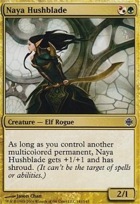 Alara Reborn Foil: Naya Hushblade