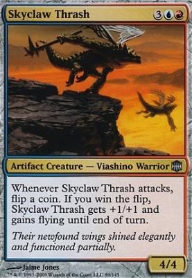 Alara Reborn Foil: Skyclaw Thrash