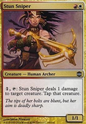 Alara Reborn Foil: Stun Sniper