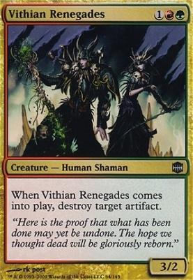 Alara Reborn Foil: Vithian Renegades