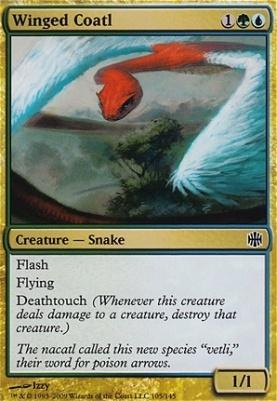 Alara Reborn: Winged Coatl