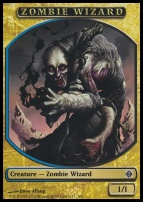 Alara Reborn: Zombie Wizard Token
