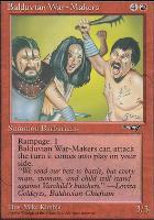 Alliances: Balduvian War-Makers (Green Background)