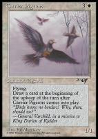 Alliances: Carrier Pigeons