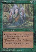 Alliances: Fyndhorn Druid (Facing Front)