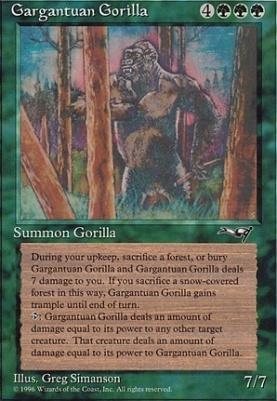 Alliances: Gargantuan Gorilla