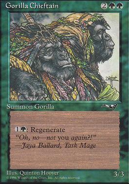 Alliances: Gorilla Chieftain (Two Gorillas)