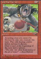 Alliances: Gorilla War Cry (Leaning Right)