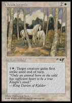 Alliances: Noble Steeds