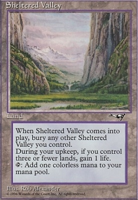 Alliances: Sheltered Valley