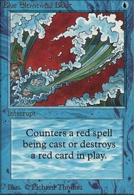 Alpha: Blue Elemental Blast