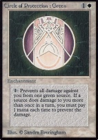 Alpha: Circle of Protection: Green