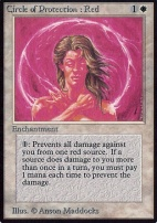 Alpha: Circle of Protection: Red