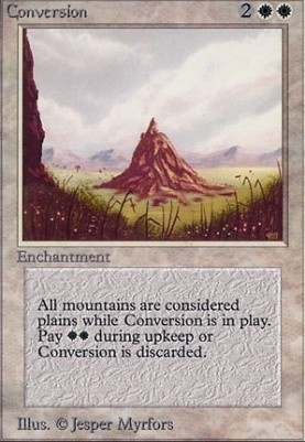 Alpha: Conversion
