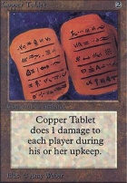 Alpha: Copper Tablet