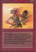 Alpha: Disintegrate