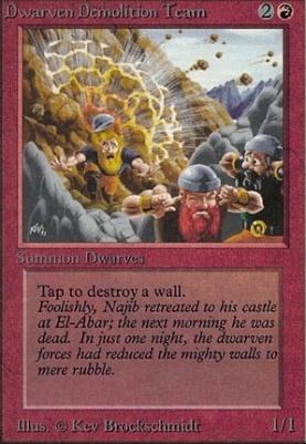 Alpha: Dwarven Demolition Team