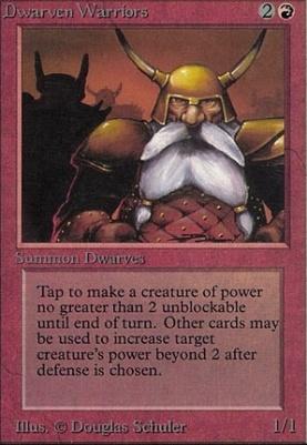 Alpha: Dwarven Warriors