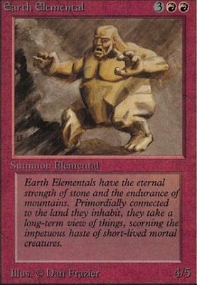 Alpha: Earth Elemental