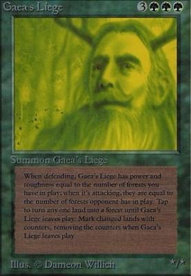 Alpha: Gaea's Liege