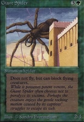 Alpha: Giant Spider