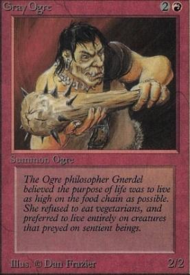 Alpha: Gray Ogre