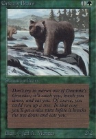 Alpha: Grizzly Bears