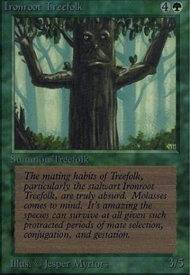 Alpha: Ironroot Treefolk